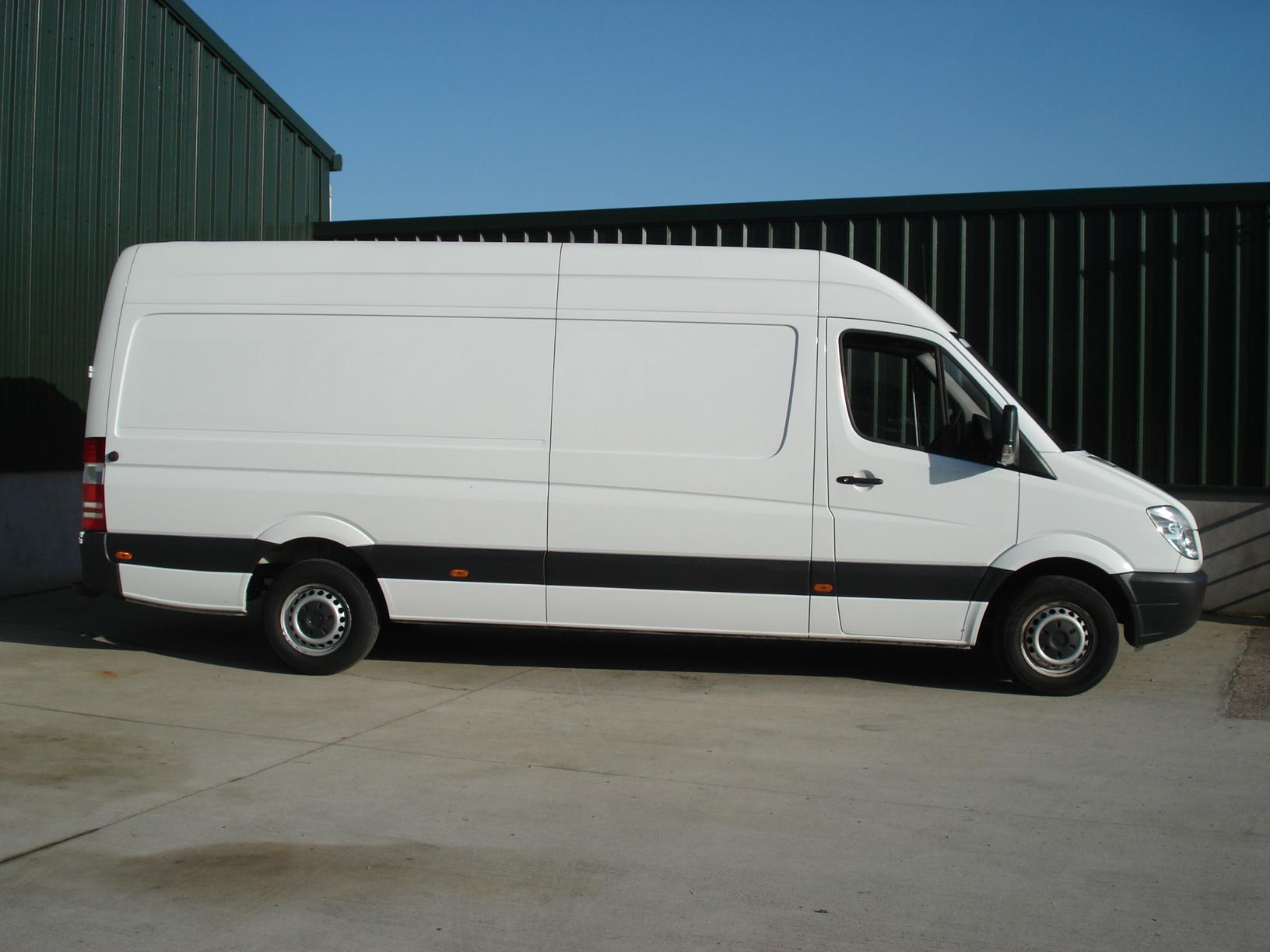 Mercedes Benz Sprinter Cdi Lwb